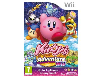 Kirby's Adventure Nintendo Wii - Huddinge - Kirby's Adventure Nintendo Wii - Huddinge
