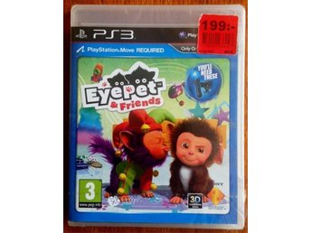 NY EYE PET & FRIENDS, PS3, PLAYSTATION MOVE, inplastat spel