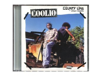 Coolio - County Line / Sticky Fingers - 1993 - CD Maxi