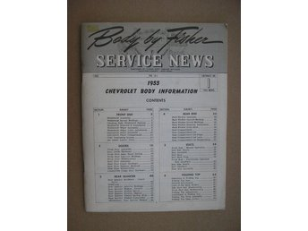 Body By Fisher Service News 1955