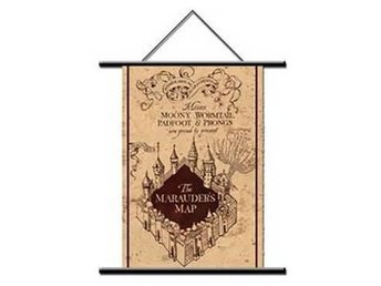 Harry Potter Vimpel Marauders Map