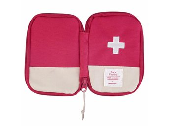 Förbandslåda Camping Survival Portable First Aid Kit bag