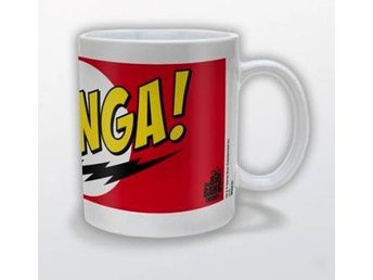 Big Bang Theory Mugg Bazinga Red