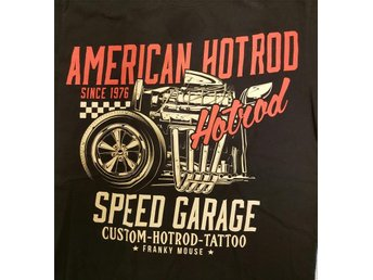 Franky Mouse Speed garage tshirt Small