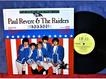 PAUL REVERE   & THE RAIDERS   KICKS   LP   VINYL   MKT FIN  KOM  1983 Nr: ED 123
