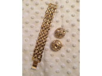 Vintage smycken , armband, clips örhängen. - Fjugesta - Vintage smycken , armband, clips örhängen. - Fjugesta