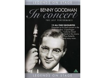 Legends on Stage - Benny Goodman