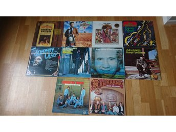 Paket Country. 10 LP.