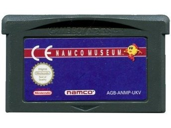 GBA - Namco Museum (5 spel) (Beg)