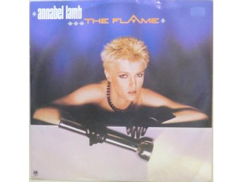 Annabel Lamb-The flame / 3-låtars 12""