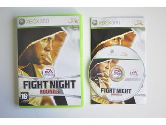 Fight Night Round 3 (komplett) till Xbox 360