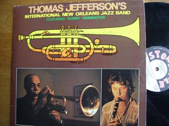 Thomas Jeffersons New Orleans Jazz Band  med autografer