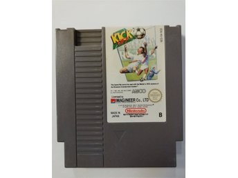 Kick Off NES Nintendo PAL