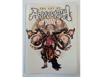 The Art Of Asura's Wrath Booklet XBOX 360 PLAYSTATION 3
