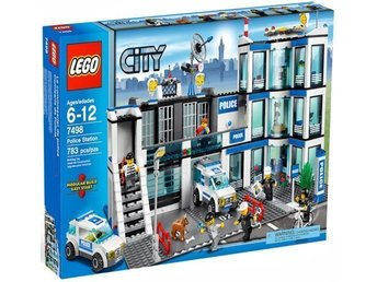 Lego City 7498 - Police Station (inkl Originalkartong)