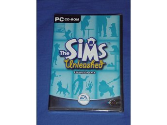 The Sims unleashed expansion pack oöppnad inplastad
