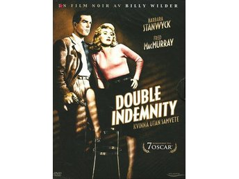 Double indemnity (1944) Billy Wilder med Fred MacMurray, Barbara Stanwyck