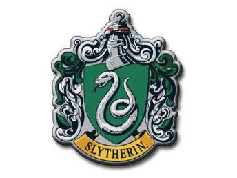 Harry Potter Kylskåpsmagnet Slytherin