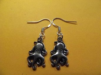 Bläckfisk örhängen / octopus earrings