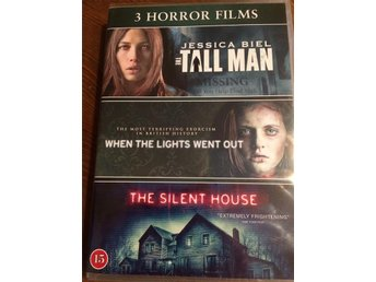 3 Horror Film - The Tall Man, When the lights went out, The Silent House - Ny - Mariestad - 3 Horror Film - The Tall Man, When the lights went out, The Silent House - Ny - Mariestad