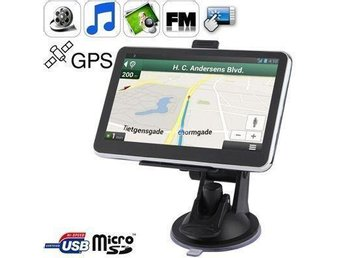Car GPS Navigator 5.0? TFT Touch with 4GB memory and Map