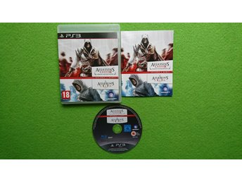 Assassins Creed 2 Game of The Year Edition + Assassins Creed 1 Playstation 3 PS3