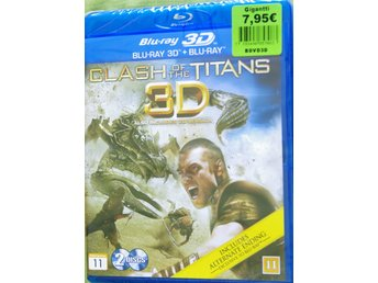 Clash of the Titans, 3D + Blu-Ray, Oanvänd, Inplastad