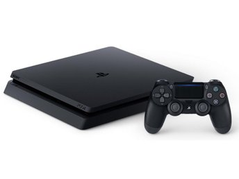 PS 4 slim med 9 spel (500gb)