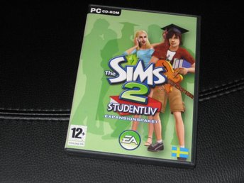 THE SIMS 2: STUDENT LIV (PC, Komplett)