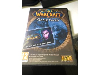 World of Warcraft (WoW) 60 dagar pre-paid game card