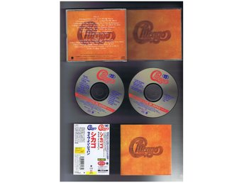CHICAGO-LIve in Japan 2-CD(Rock klassiker från 1972!)JAP CD