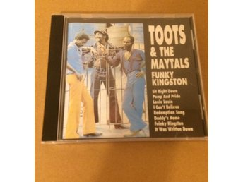 CD,Toots & The Maytals,Funky Kingston