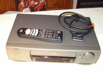 JVC HR-J711EU A2/NICAM HIFI STEREO VIDEO CASSETTE RECORDER ENLIGT TEXT & BILDER!