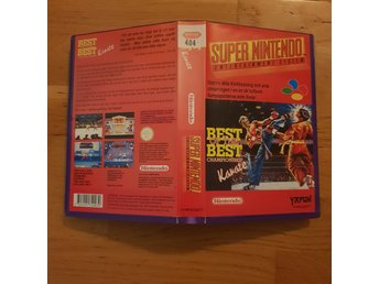 Best of the Best Championship Karate - Hyrbox - Super Nintendo Yapon SNES
