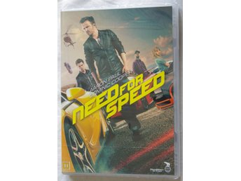 Need for Speed, DVD, Svensk text, Oanvänd, Inplastad