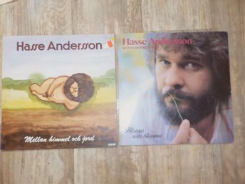2 x Hasse Andersson Lp