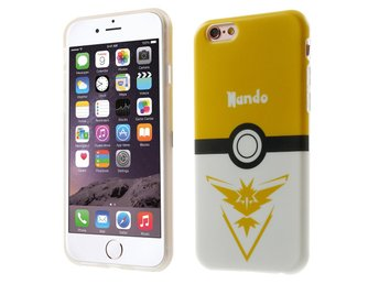 iPhone 6 / 6S Pokemon Go Team Instinct Guld mobilskal Nando TPU