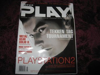 SUPER PLAY MAJ 2000 TEKKEN TAG TOURNAMENT