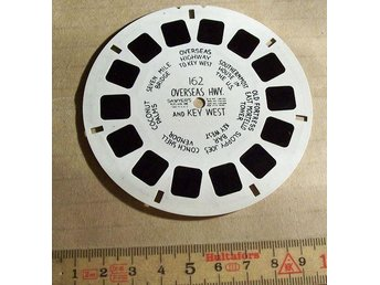 VIEW-MASTER SKIVA. OVERSEAS HWY. AND KEY WEST