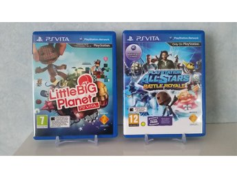 Playstation All Stars Battle Royale & LittleBig Planet PS VITA Spel