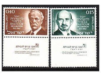 Israel 1967. M nr: 401-02 ** - Njurunda - Israel 1967. M nr: 401-02 ** - Njurunda