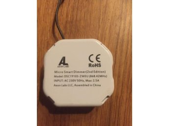Z Wave Aeon micro smart dimmer 2ed