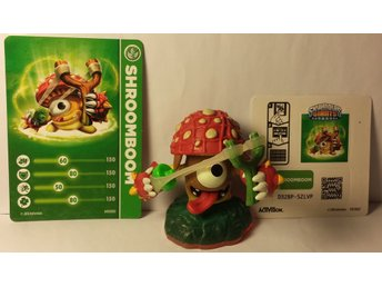 Skylanders Giants figur shroomboom