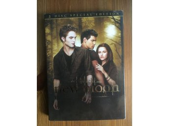 New Moon - The Twilight Saga - DVD Mkt Bra Skick!