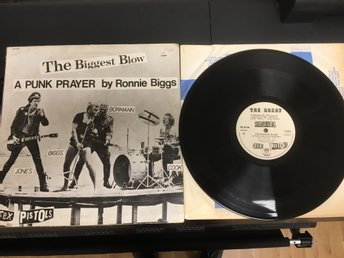 SEX PISTOLS /  MAXI SINGEL / THE BIGGEST BLOW / A PUNK PRAYER BY RONNIE BIGGS .