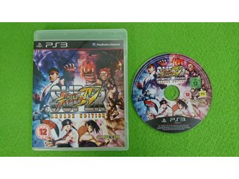 Super Street Fighter 4 Arcade Edition Ps3 Playstation 3 IV