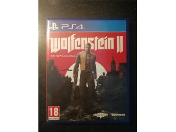 Wolfenstein 2 The New Colossus - PS4