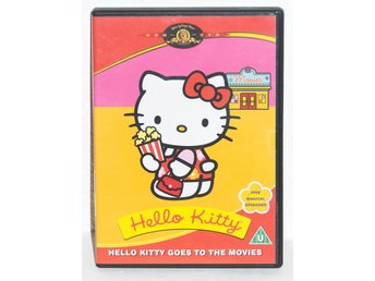 DVD-film Hello Kitty - Hello Kitty goes to the movies - OBS! på engelska!
