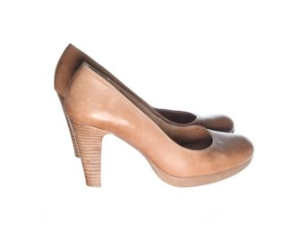Pumps, Strl: 36, Beige