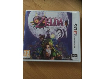 The Legend of Zelda Majoras Mask Nintendo 3DS